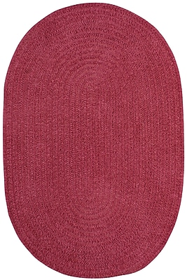 Capel Custom Classics Braided Rose Area Rug; Oval 3' x 5'