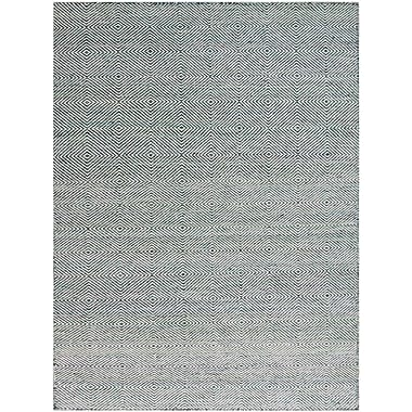 AMER Rugs Amber Hand-Tufted Green Area Rug; Rectangle 5' x 8'