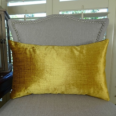 Plutus Brands Lumiere Throw Pillow; 12'' H x 20'' W