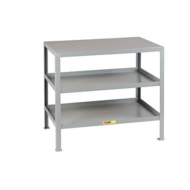 Little Giant USA Multi-Shelf Steel Top Workbench; 32.5'' H x 36'' W x 24'' D