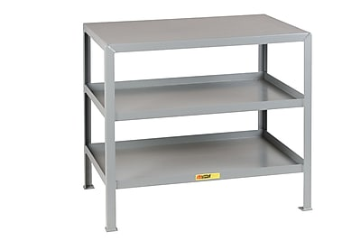 Little Giant USA Multi-Shelf Steel Top Workbench; 32.5'' H x 24'' W x 18'' D