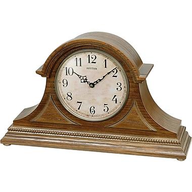 Rhythm Joyful Remington Mantel Clock