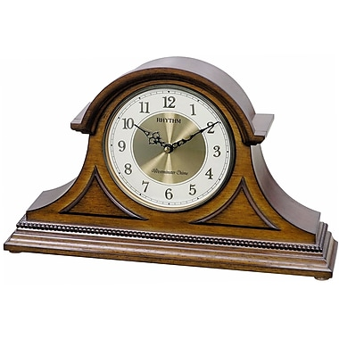Rhythm WSM Remington Mantel Clock