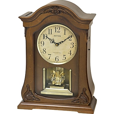 Rhythm WSM Luminous Queen Mantel Clock
