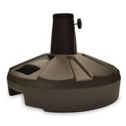 BudgeIndustries Resin Free-Standing Umbrella Base; Bronze
