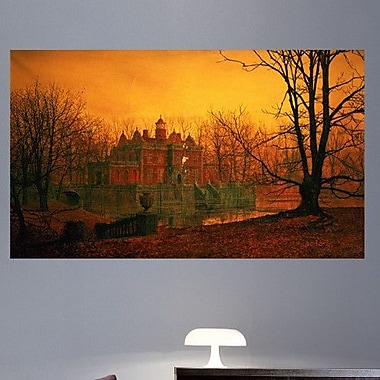 Wallhogs Grimshaw The Haunted House (19th) Wall Mural; 14'' H x 24'' W