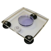 TrippNT Acrylic Leveling Table; 1'' H x 8'' W x 8'' D