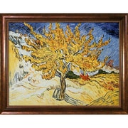 Wildon Home   The Mulberry Tree' by Vincent Van Gogh Framed Painting