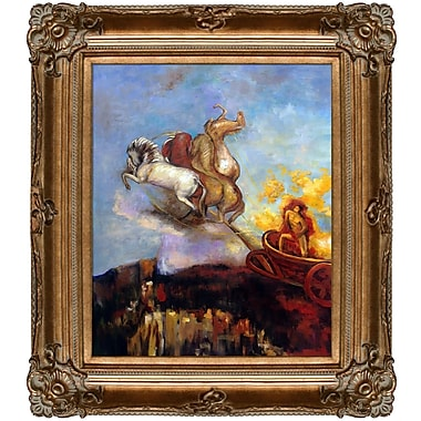 Tori Home Apollo's Chariot, 1907 by Odilon Redon Framed Painting Print