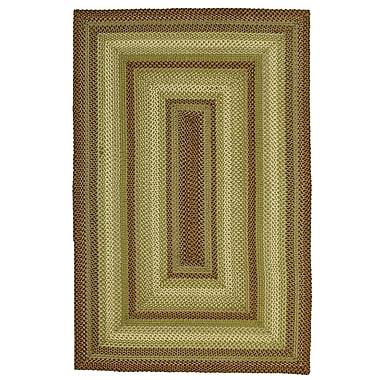 Homespice Decor Winter Wheat Green Indoor/Outdoor Area Rug; Runner 2'6'' x 6'