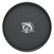 Kraftware Kasualware Designs Fishin' 14'' Round Serving Tray