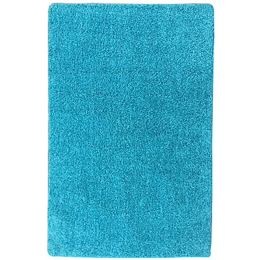 Ottomanson Luxury Blue Area Rug; 1'8'' x 4'11''