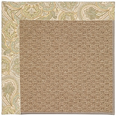 Capel Zoe Machine Tufted Beige/Brown Indoor/Outdoor Area Rug; Rectangle 5' x 8'