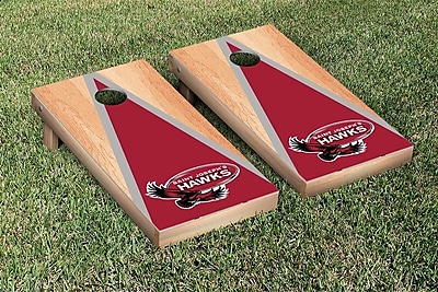 Victory Tailgate NCAA Hardcourt Triangle Version Cornhole Game Set; St. Josephs SJU Hawks