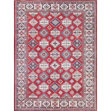 Pasargad Super Kazak Hand-Knotted Area Rug