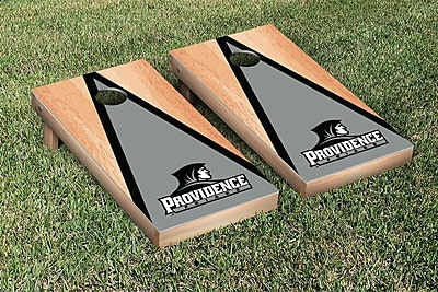 Victory Tailgate NCAA Hardcourt Triangle Version Cornhole Game Set; Providence College Friars
