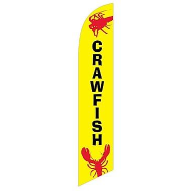 NeoPlex Crawfish Deluxe Swooper Flag
