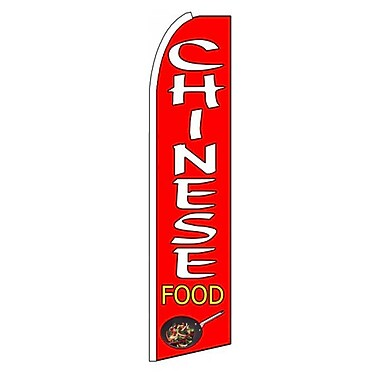 NeoPlex Chinese Food Swooper Flag