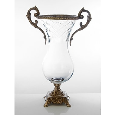 ClassicTouch Glass Vase