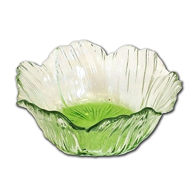 ClassicTouch Trophy Dessert Bowl (Set of 4); Green