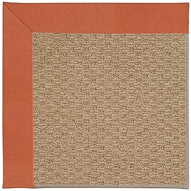 Capel Zoe Machine Woven Clay/Brown Indoor/Outdoor Area Rug; Rectangle 12' x 15'