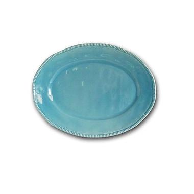 Euro Ceramica Al Garve Oval Platter; Teal