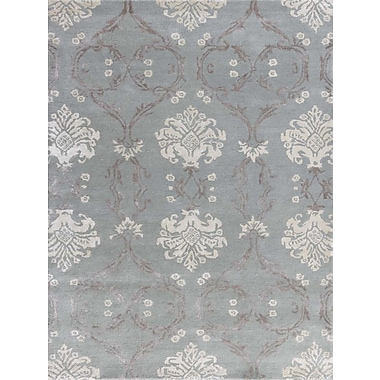 AMER Rugs Serendipity Hand-Tufted White Ice Area Rug; Rectangle 2' x 3'