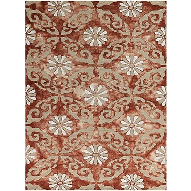 AMER Rugs Kanoka Hand-Tufted Red Area Rug; Rectangle 8' x 11'