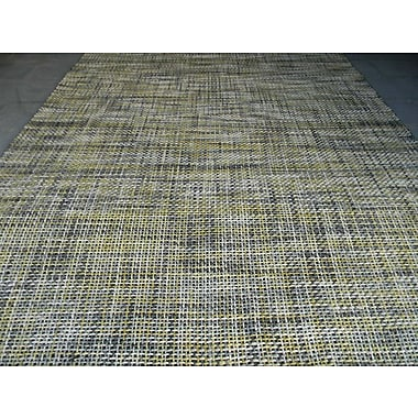 Modern Rugs Drift Yellow Area Rug; Square 5'