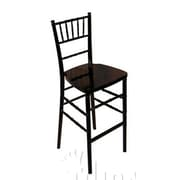 Midas Event Supply Legacy Bar Stool; Black