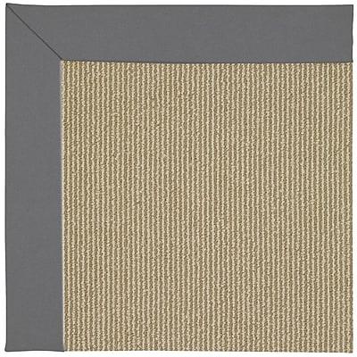 Capel Zoe Brown Indoor/Outdoor Area Rug; Rectangle 8' x 10'