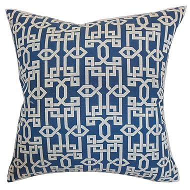 The Pillow Collection Cananea Geometric Cotton Throw Pillow Cover; 20'' x 20''