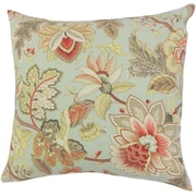 The Pillow Collection Filipa Floral Throw Pillow; 18'' x 18''