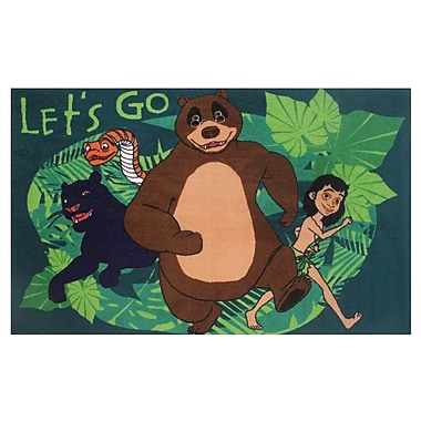 Fun Rugs The Jungle Book Let's Go Green Area Rug