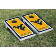 Victory Tailgate NCAA Cornhole Game Set; West Virginia WVU Mountaineers