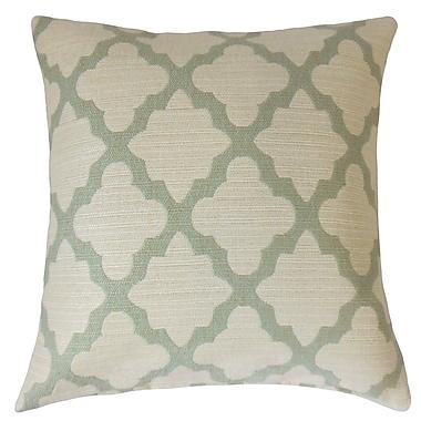 The Pillow Collection Ferrol Geometric Throw Pillow; 20'' x 20''