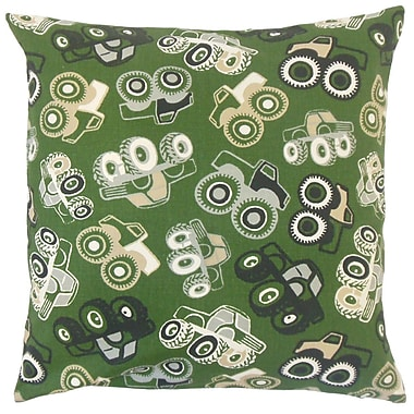 The Pillow Collection Marcellus Graphic Cotton Throw Pillow; 20'' x 20''