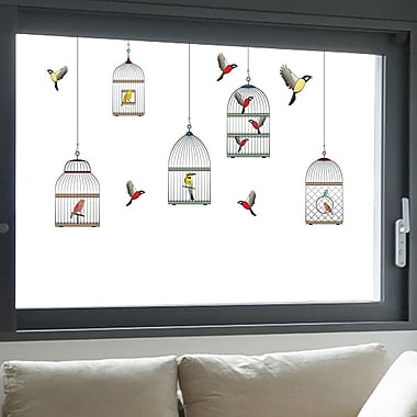 WallPops! Cages 10 Piece Window Decal Set