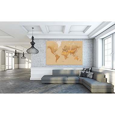 WallPops! The World Wall Mural