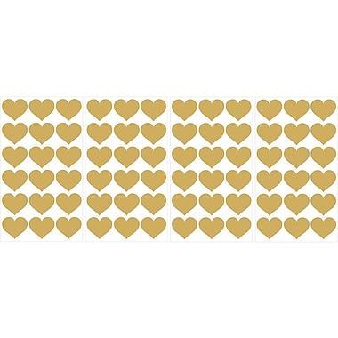 WallPops! Heart MiniPops 72 Piece Wall Decal Set