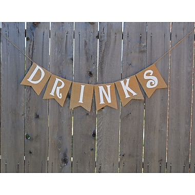 Rustic Chic Boutique Drinks Banner