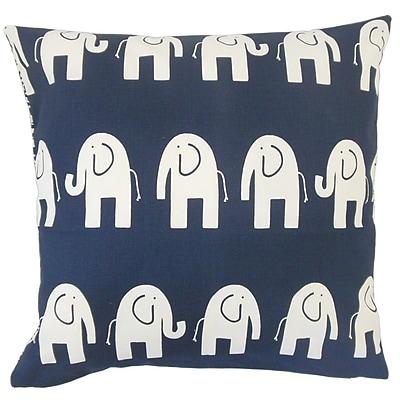 The Pillow Collection Horton Graphic Cotton Throw Pillow; 20'' x 20''