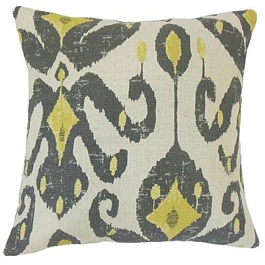 The Pillow Collection Veradisia Ikat Throw Pillow; 18'' x 18''