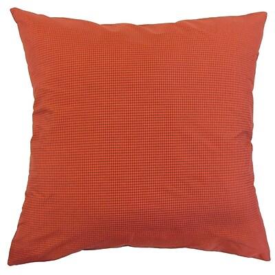 The Pillow Collection Roma Throw Pillow; 20'' x 20''