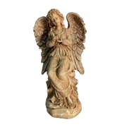 Hi-Line Gift Ltd. Sand Sitting Angel Decorative Bird Feeder