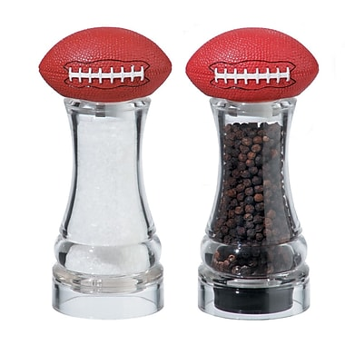 Chef Specialties Gameday Football Pepper and Salt Mill Set