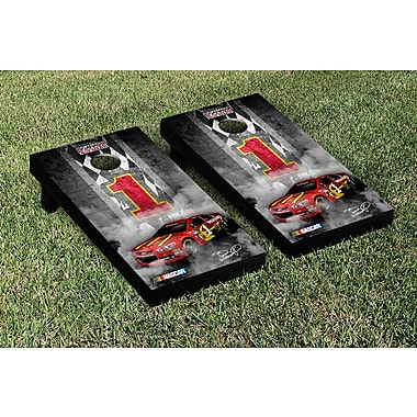 Victory Tailgate NCAA Nascar Pit Row Version Cornhole Game Set; NASCAR Jamie McMurray #1