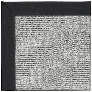 Capel Inspirit Silver Machine Tufted Onyx/Gray Area Rug; Square 4'