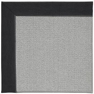 Capel Inspirit Silver Machine Tufted Onyx/Gray Area Rug; Rectangle 2' x 3'