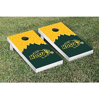 Victory Tailgate NCAA Trailblazer Version Cornhole Game Set; North Dakota State NDSU Bison